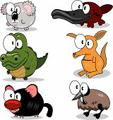 pic of platypus  - Some cartoon animals  - JPG