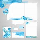 Lively Corporate Identity Vector