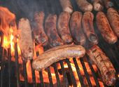 Brats On The Barbeque