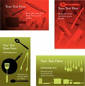 Four Catering Backgrounds