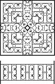 Wrought Iron Grill, Railing design