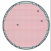 Semiconductor wafer map test result 2