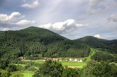 Black Forest Landscapes In Germany