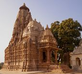 stock photo of jainism  - Temple of the eastern group dedicated to Jainism - JPG