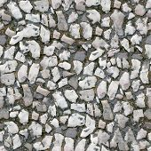 Seamless Tile Pattern Of A Stone Pavement