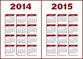 Calendario 2014,2015