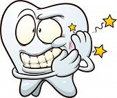 pic of toothache  - Cartoon Toothache - JPG