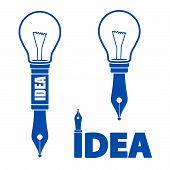 Idee symbolen