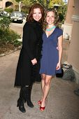 Brigid Brannagh and Sally Pressman at the 2007 TCA Winter Press Tour. Ritz Carlton Huntington Hotel,