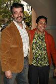 Kevin Ruf and Oscar Nunez at the 2007 TCA Winter Press Tour. Ritz Carlton Huntington Hotel, Pasadena, CA. 01-11-07