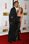 Sacha Baron Cohen and Isla Fisher at the 12th Annual Critics' Choice Awards. Santa Monica Civic Audi