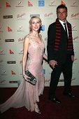 Naomi Watts and Liev Schreiber at the G'Day USA Penfolds Black Tie Icon Gala. Hyatt Regency Century Plaza, Los Angeles, CA. 01-13-07