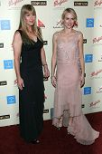 Terri Irwin and Naomi Watts at the G'Day USA Penfolds Black Tie Icon Gala. Hyatt Regency Century Pla
