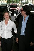 Elisabeth Shue and Davis Guggenheim at the luncheon for the nominees of the 79th Annual Academy Awards. Beverly Hilton Hotel, Beverly Hills, Ca. 02-05-07