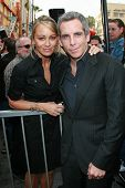 Christine Taylor and Ben Stiller at the ceremony honoring Jerry Stiller and Anne Meara with a star on the Hollywood Walk of Fame. Hollywood Boulevard, Hollywood, CA. 02-09-07