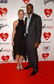 Josephine Jacob and Roger Cross at the 2007 MusiCares Person of the Year Honoring Don Henley. Los An