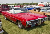 1968 Red Pontiac Catalina Side View