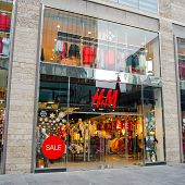 H&M Store in Liverpool, UK