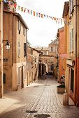 Street in Saint Tropez