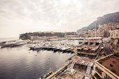 Marina of Monte Carlo