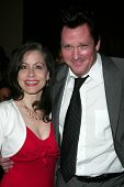 Vicki Roberts and MIchael Madsen at the 2007 ACE Eddie Awards. Beverly Hilton Hotel, Beverly Hills,