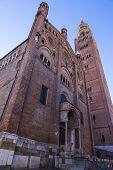 Cathedral Facade, Cremona