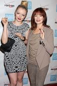 Francesca Fisher-Eastwood, Frances Fisher at the 41st Annual Peace Over Violence Humanitarian Awards