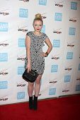 Francesca Fisher-Eastwood at the 41st Annual Peace Over Violence Humanitarian Awards, Beverly Hills