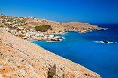 Sea Near Chora Sfakion In Crete