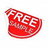 Circle Label Free Sample