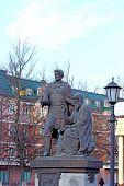 Monument To The Founders Of Zvenigorod Zvenigorod Yuri And Saint Savva Storozhevsky