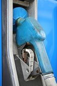 Blue Gas Pump