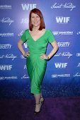 Kate Flannery at the Variety and Women In Film Pre-Emmy Event, Scarpetta, Beverly Hills, CA 09-21-12
