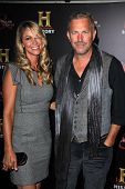 Kevin Costner and Wife Christine at the