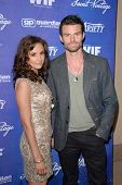Rachael Leigh Cook, Daniel Gillies at the Variety and Women In Film Pre-Emmy Event, Scarpetta, Beverly Hills, CA 09-21-12