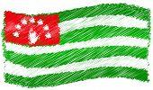 Flag - Abkhazia