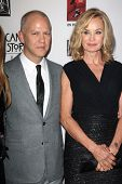Ryan Murphy, Jessica Lange at the Premiere Screening of FX's