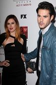 Rumer Willis, Jayson Blair at the Premiere Screening of FX's