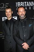 Matt Stone, Trey Parker at the 2012 BAFTA LA Britannia Awards, Beverly Hilton, Beverly Hills, CA 11-07-12