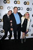 Chris Hardwick, Andy Richter at the GQ Men Of The Year Party, Chateau Marmont, West Hollywood, CA 11-13-12