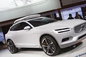 Detroit - January 26 :the New 2015 Volvo Concept Xc Coupe At The North American International Auto S