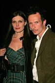 Mary Forsberg and Scott Weiland at Hugo Boss's