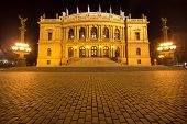 The National Theater  in Prague