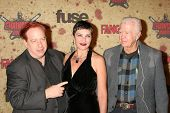 John Gulager and family at the Fuse Fangoria Chainsaw Awards. Orpheum Theatre, Los Angeles, CA. 10-1