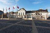 Grassalkovichov Palace In Bratislava, Slovakia