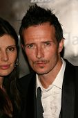 Scott Weiland and wife Mary Forsberg at the William Rast Spring 2007