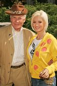 Buzz Aldrin and Holly Madison at 2006 Safari Brunch Fundraiser For The Wildlife Waystation. Playboy