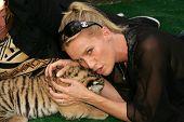 Nicolette Sheridan at 2006 Safari Brunch Fundraiser For The Wildlife Waystation. Playboy Mansion, Lo