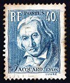 Postage Stamp France 1934 Joseph Marie Jacquard, Inventor