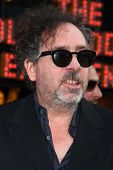 Tim Burton at the